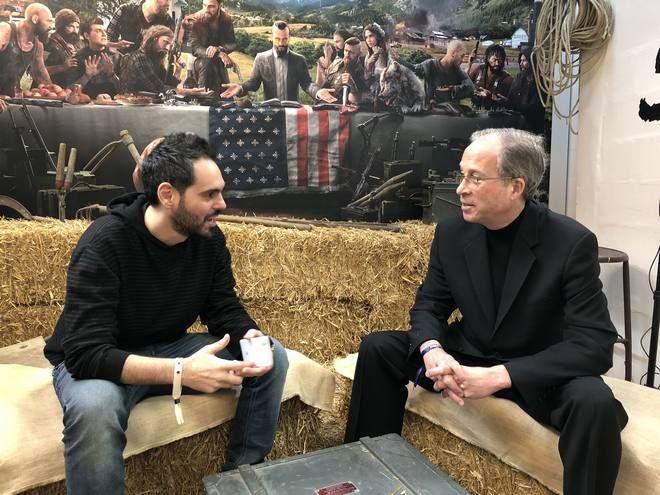 Συνομιλώντας με τον  Rick Alan Ross στο Παρίσι