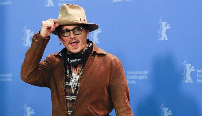 Ο Τζόνι Ντεπ στο Φεστιβάλ Κινηματογράφου του Βερολίνου