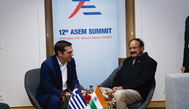 Ο Πρωθυπουργός Αλέξης Τσίπρας στην δεύτερη ημέρα εργασιών της Συνόδου Κορυφής των ηγετών της ΕE