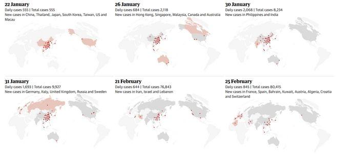 Κορονοϊός: Δείτε την εξέλιξη των κρουσμάτων λεπτό προς λεπτό