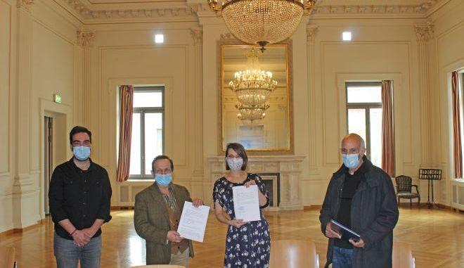 Υπογράφηκε η Συλλογική Σύμβαση Εργασίας (ΣΣΕ) μεταξύ του Σωματείου Ελλήνων Ηθοποιών και του Εθνικού Θεάτρου.