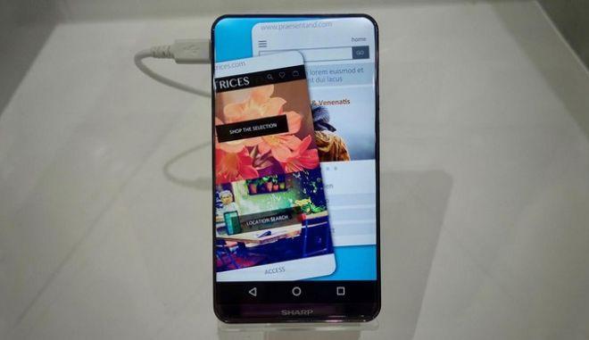 Μπορεί να είναι αυτή η οθόνη ενός επόμενου iPhone;
