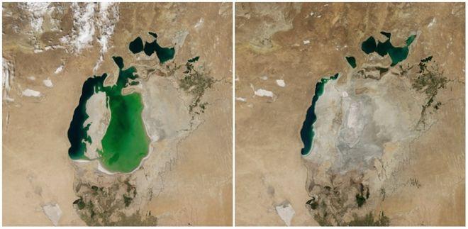 Η Γη τότε και σήμερα: Φωτογραφίες της ΝASA δείχνουν τι έχουμε κάνει στον πλανήτη