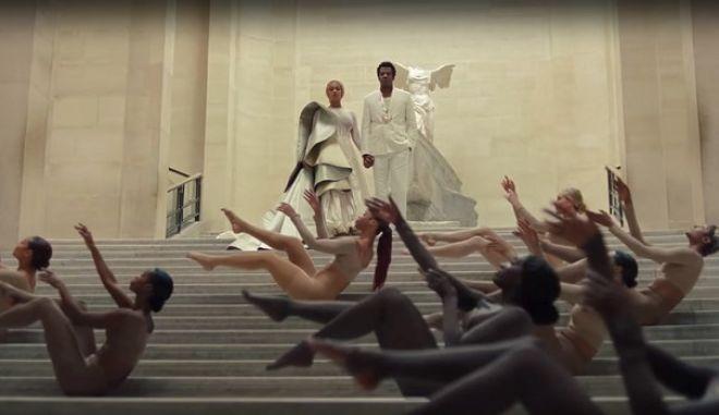 Beyonce και Jay Z γύρισαν videoclip μπροστά στη Νίκη της Σαμοθράκης στο Λούβρο