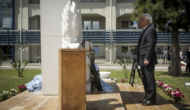 Αποκαλυπτήρια του Μνημείου Πεσόντων Λιμενικού Σώματος από τον Πρόεδρο της Δημοκρατίας, Προκόπη Παυλόπουλο