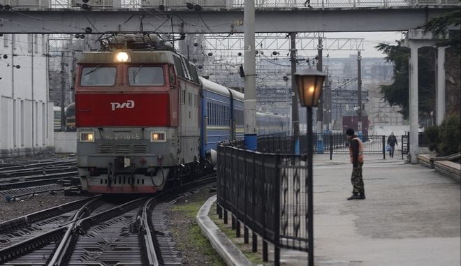 Τραίνο στην Κριμαία