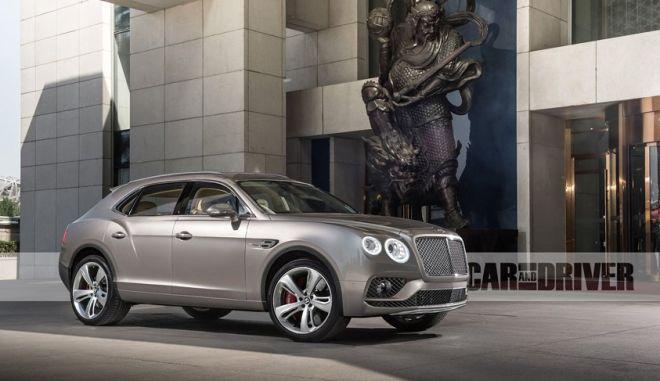 Το SUV της Bentley σπάει το φράγμα των 300 χλμ./ώρα