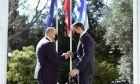 Συνάντηση του Πρωθυπουργού Κυριάκου Μητσοτάκη με τον Πρωθυπουργό της Ρωσικής Ομοσπονδίας Mikhail Mishustin