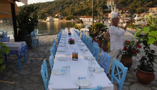 Εστιατόριο στη Λευκάδα (Φωτογραφία αρχείου)