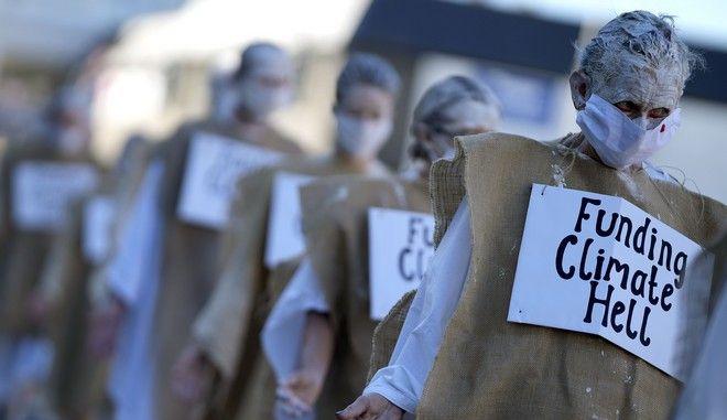 Διαδήλωση για το κλίμα στην Κορνουάλη