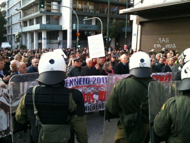 Ειρηνική η πορεία για την εξέγερση του Πολυτεχνείου