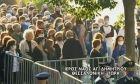 Συνωστισμός πιστών στον Ιερό Ναό Αγίου Δημητρίου