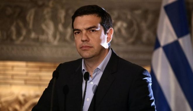 Joint press conference of Alexis Tsipras and Nikos Anastasiades at Maximos Mansion, in Athens, on Apr. 17, 2015 /    ,  17  2015