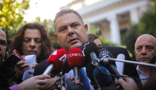 Δηλώσεις Πάνου Καμμένου μετά τη συνάντηση με τον Πρωθυπουργό Αλέξη Τσίπρα