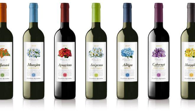 """Η σειρά κρασιών """"Ποικιλιακά Λουλούδια"""" της Ελληνικά Κελλάρια Οίνων με νέα, πιο φρέσκια εμφάνιση!"""