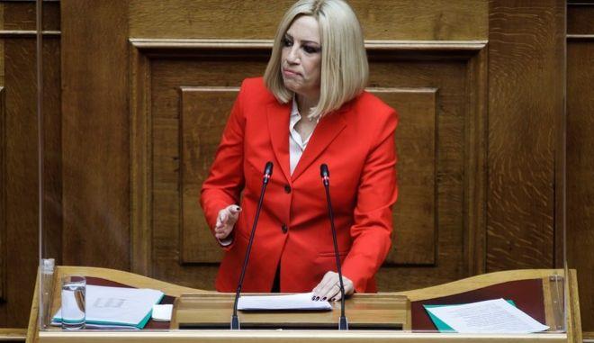 Συζήτηση στη Βουλή με αντικείμενο την  κυβερνητική πολιτική σχετικά με την αντιμετώπιση της πανδημίας