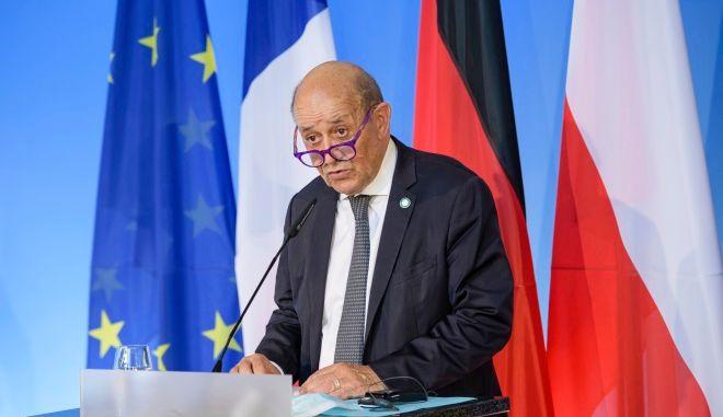 Ο Γάλλος υπουργός Εξωτερικών Ζαν-Ιβ Λεντριάν