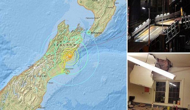 Νέα Ζηλανδία: Καταστροφές από τα 7,8 Ρίχτερ και το τσουνάμι