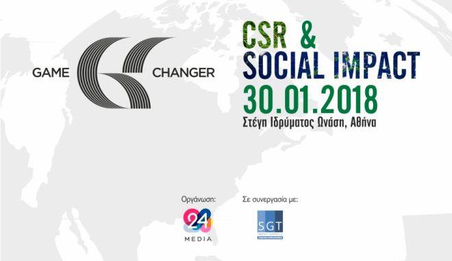 Game Changer in CSR & Social Impact