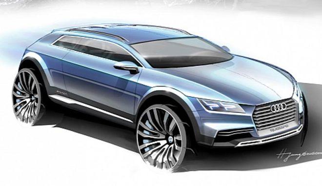 H Audi παρουσιάζει ένα νέο crossover coupe concept στο Ντιτρόιτ