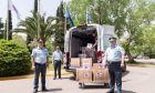 Προσφορά υγειονομικού υλικού για τον κορονοϊό από την Πρεσβεία των ΗΠΑ στην ΕΛ.ΑΣ.