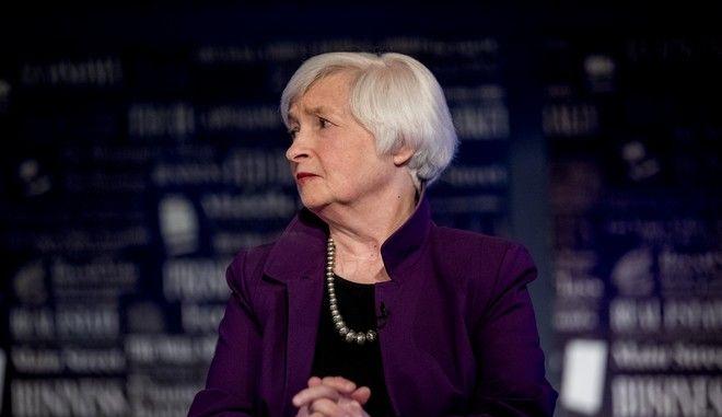 Η Πρόεδρος της Αμερικανικής Κεντρικής Τράπεζας Τζάνετ Γέλεν