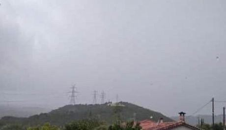 Bροχοπτώσεις στη Ναύπακτο