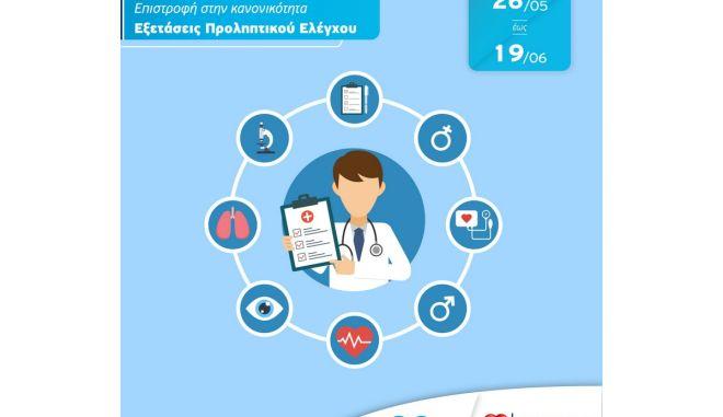 Εξετάσεις προληπτικού ελέγχου για όλους από τον Όμιλο Ιατρικού Αθηνών