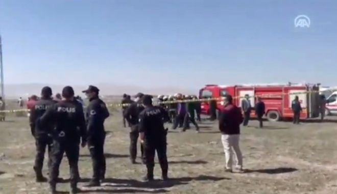 Τουρκία: Συνετρίβη αεροσκάφος της Πολεμικής Αεροπορίας - Νεκρός ο πιλότος