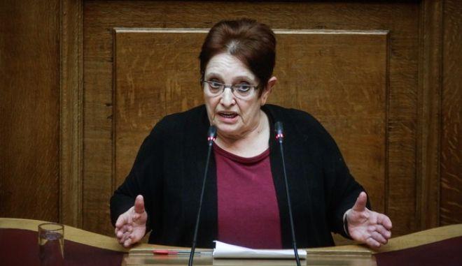 Η Αλέκα Παπαρήγα