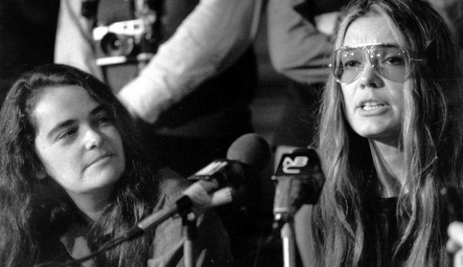 καρέ από την Κέιτ Μιλλέτ σημαντική φεμινίστρια, λογοτεχνική και κοινωνική κριτικός