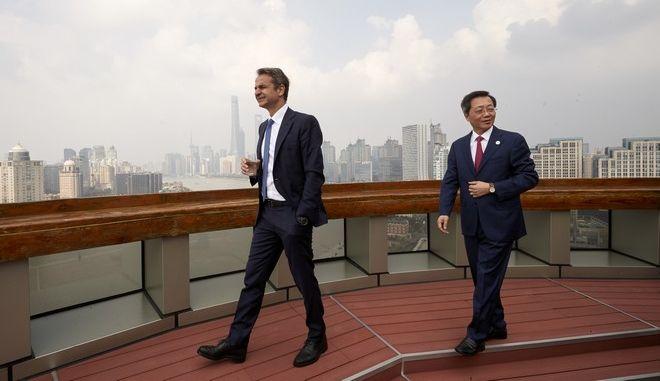 Επίσκεψη Μητσοτάκη στην Κίνα