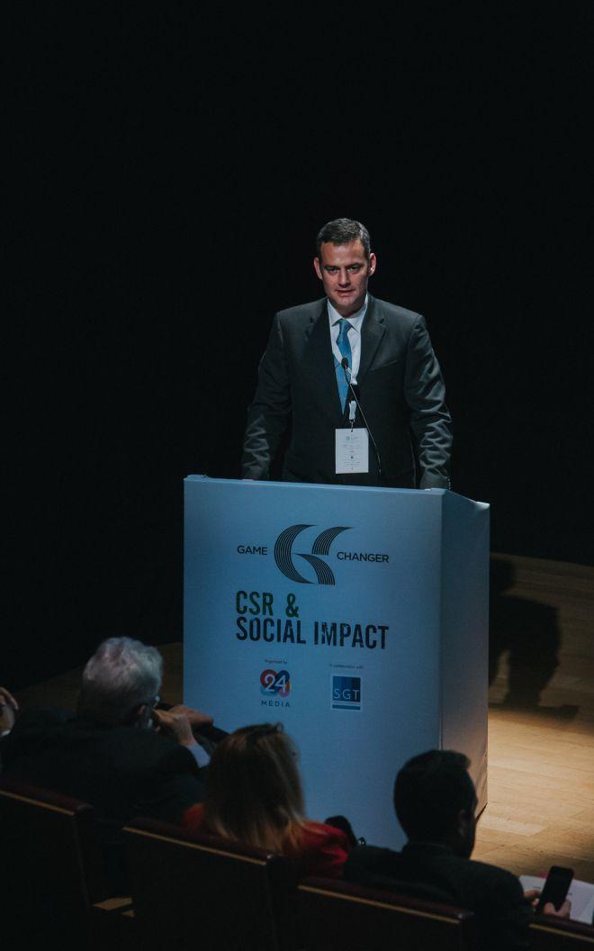 Με μεγάλη επιτυχία ολοκληρώθηκε το πρώτο Game Changer in CSR & Social Impact