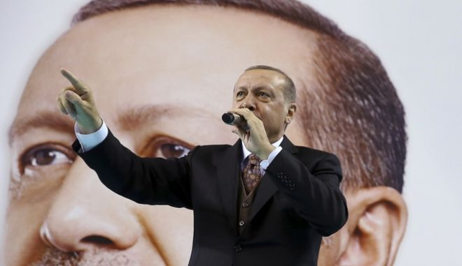 Turkey's President Recep Tayyip Erdogan, (Kayhan Ozer/Pool Photo via AP)