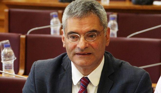 Ενημέρωση από τους Ευρωβουλευτές των μελών της Ειδικής Επιτροπής της Βουλής των Ελλήνων για το περιεχόμενο και τις διαδικασίες σύναψης των διατλαντικών εμπορικών συμφωνιών για την πορεία των διαπραγματεύσεων των διατλαντικών εμπορικών συμφωνιών σε επίπεδο Ε.Ε. και σχεδιασμός συντονισμού δράσης, την Παρασκευή 2 Σεπτεμβρίου 2016. (EUROKINISSI/ΑΛΕΞΑΝΔΡΟΣ ΖΩΝΤΑΝΟΣ)