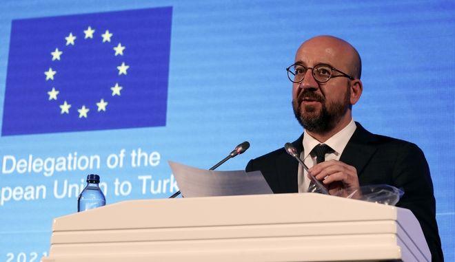 Ο Πρόεδρος του Ευρωπαϊκού Συμβουλίου Σαρλ Μισέλ