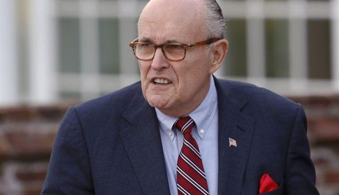 Ο π. δήμαρχος της Νέας Υόρκης, Ρούντολφ Τζουλιάνι