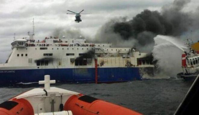 Norman Atlantic: Οκτώ αμείλικτα ερωτήματα για την τραγωδία. 118 Έλληνες αποβίβασε στο Μπρίντιζι το San Giorgio