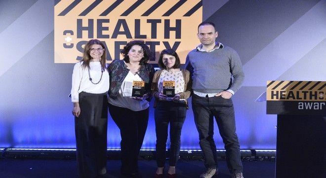 Διπλή διάκριση για την Coca-Cola Τρία Έψιλον στον τομέα Υγείας και Ασφάλειας των εργαζομένων στα Health & Safety Awards.