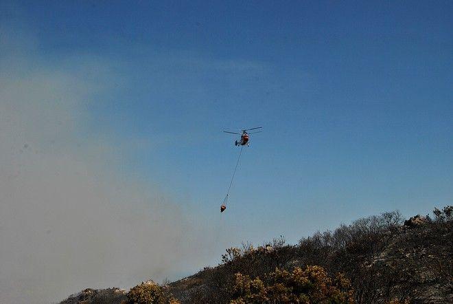 Στιγμιότυπα από τα μέτωπα των πυρκαγιών των τελευταίων ημερών. Στιγμιότυπα από τα χωριά Στανίλου-Υπεράθαγος . Τετάρτη 16 Αυγούστοτ 2017. (EUROKINISSI / ΗΜΕΡΑ ΖΑΚΥΝΘΟΥ)