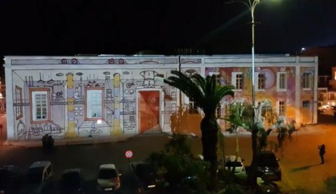 Φοιτητές του Πολυτεχνείου Κρήτης δίνουν ζωή σε 'παγωμένους' τοίχους