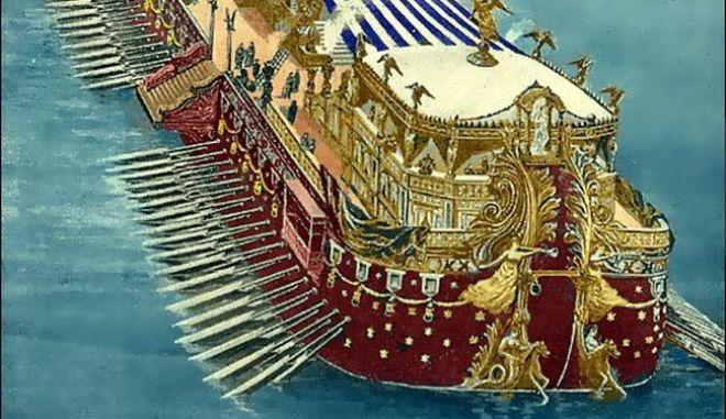 Μηχανή του Χρόνου: Ήταν καταμαράν το πλοίο του Πτολεμαίου;