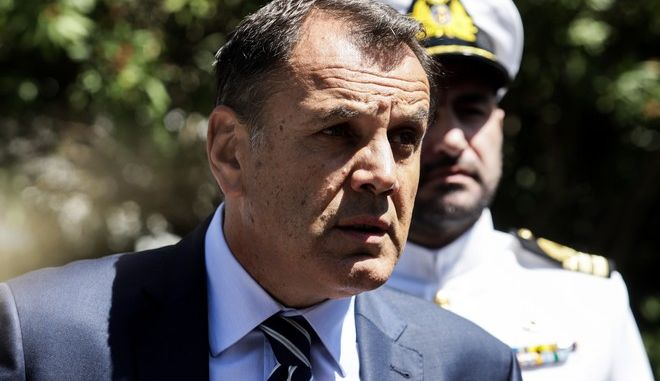 Ο Υπουργός Εθνικής Άμυνας Ν.Παναγιωτόπουλος
