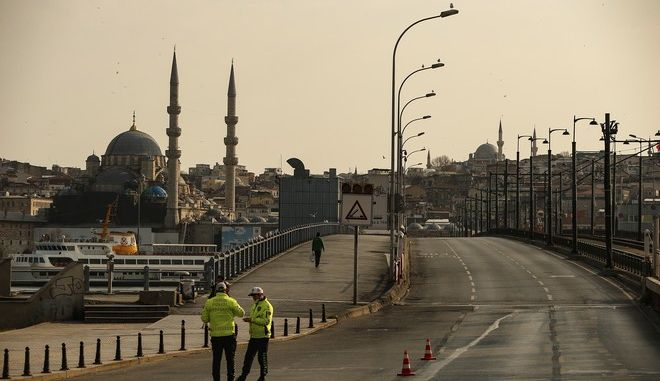 Απαγόρευση κυκλοφορίας στην Κωνσταντινούπολη λόγω κορονοϊού