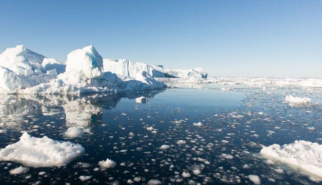 Παγόβουνα στην Γροιλανδία