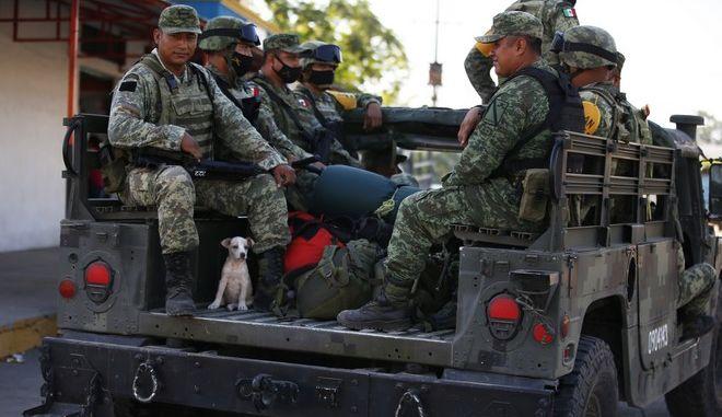 Μεξικανοί στρατιώτες