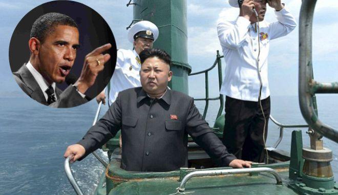 Οι ΗΠΑ τρίζουν τα δόντια στη Βόρεια Κορέα