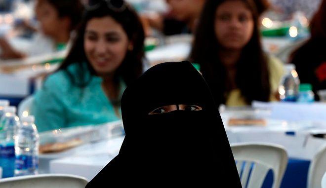 Η Μπούρκα απαγορεύεται σε ευρωπαϊκές χώρες - Φωτογραφία αρχείου.