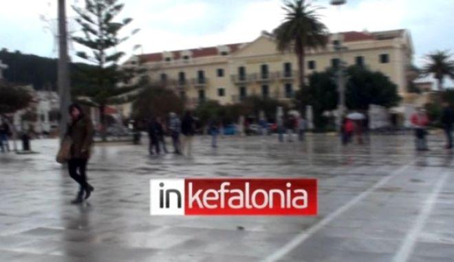 Βίντεο - ντοκουμέντο από την καταστροφή στην Κεφαλλονιά