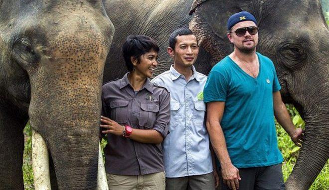 Στη ζούγκλα της Ινδονησίας ο Ντι Κάπριο